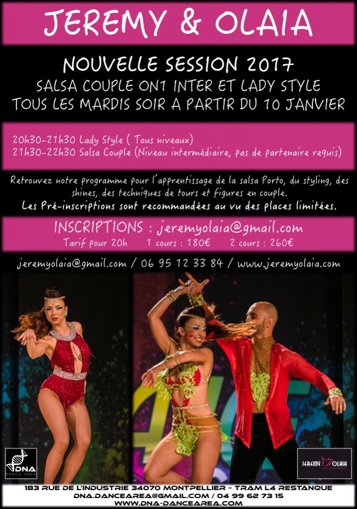 NOUVELLE SESSION 2017 SALSA COUPLE ON1 INTER ET LADY STYLE