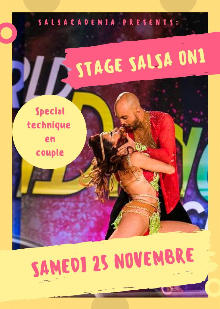 Stage Salsacademia Intensif 2h Salsa On1