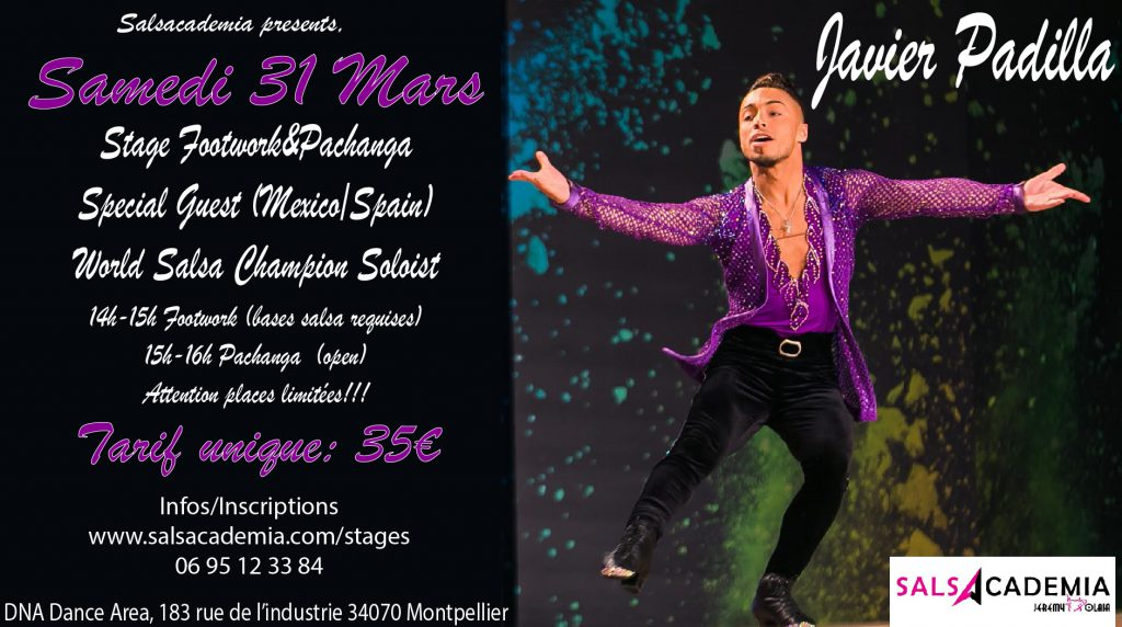 Workshop Special Guest Javier Padilla Footwork & Pachanga