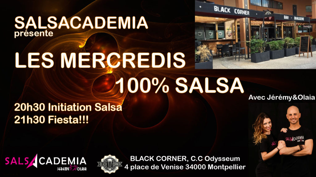 Les Mercredis 100% Salsa par Salsacademia