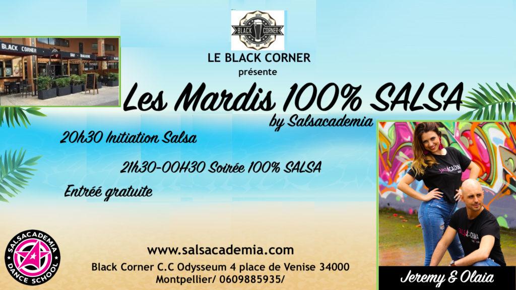 Spécial été : Les mardi 100% Salsa au Black Corner
