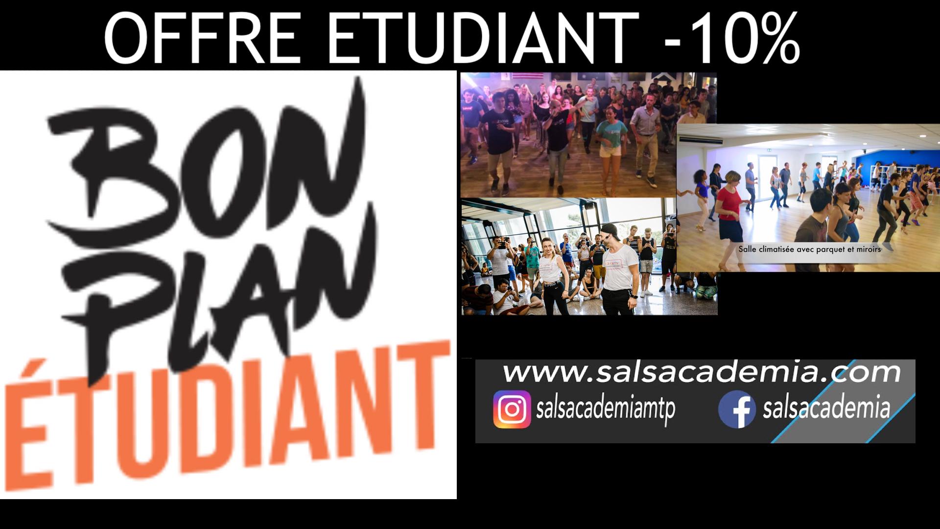 Bon Plan Etudiant : Apprenez la Salsa à Montpellier !