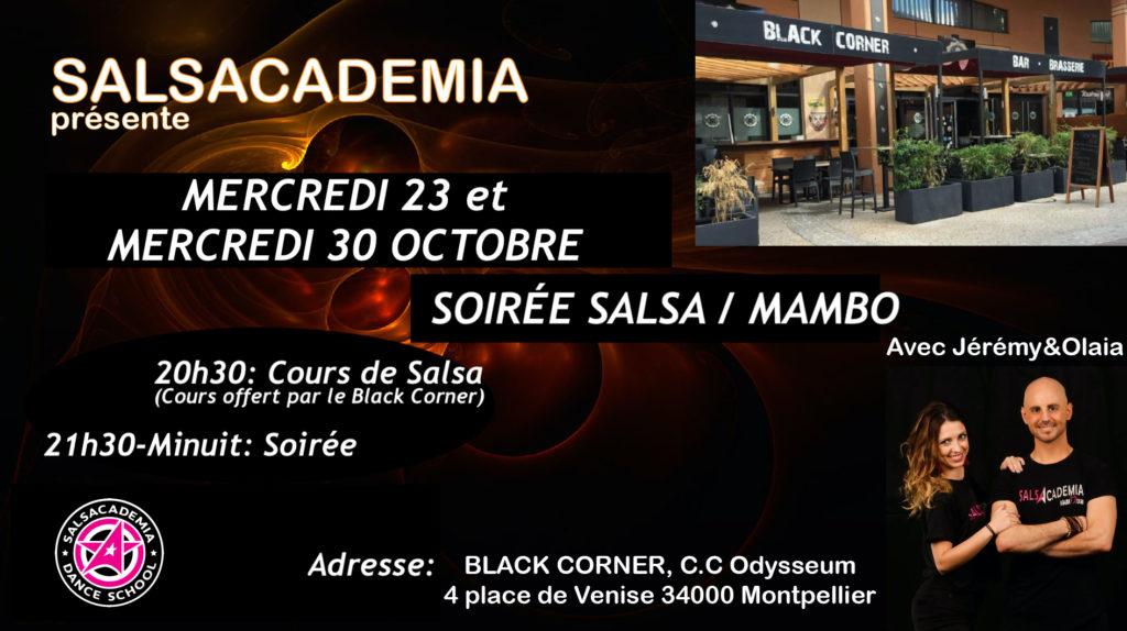 Spécial Vacances: Mercredi Salsa/Mambo Au Black Corner