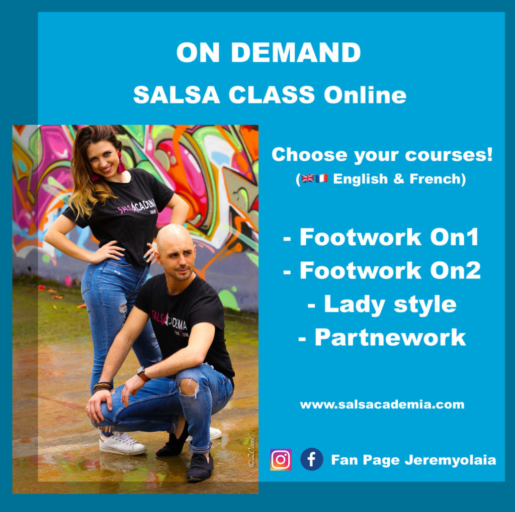 COURS SALSA ONLINE – SALSACADEMIA – JEREMY & OLAIA