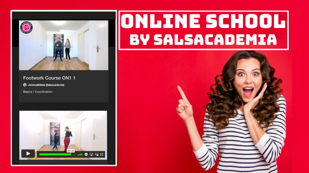 Online School by Salsacademia