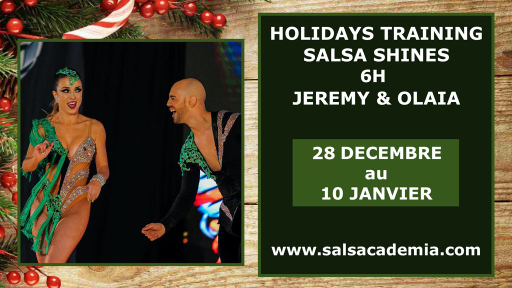 Holidays Online Salsa Shines with Jeremy&Olaia – 6h