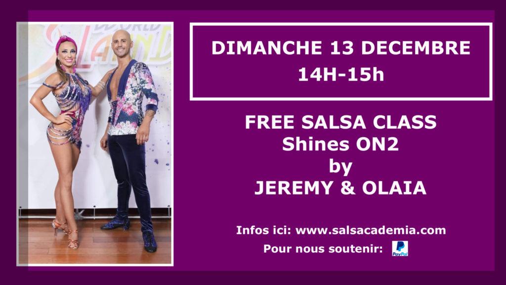 DIMANCHE 13 DECEMBRE: FREE SALSA CLASS !!!