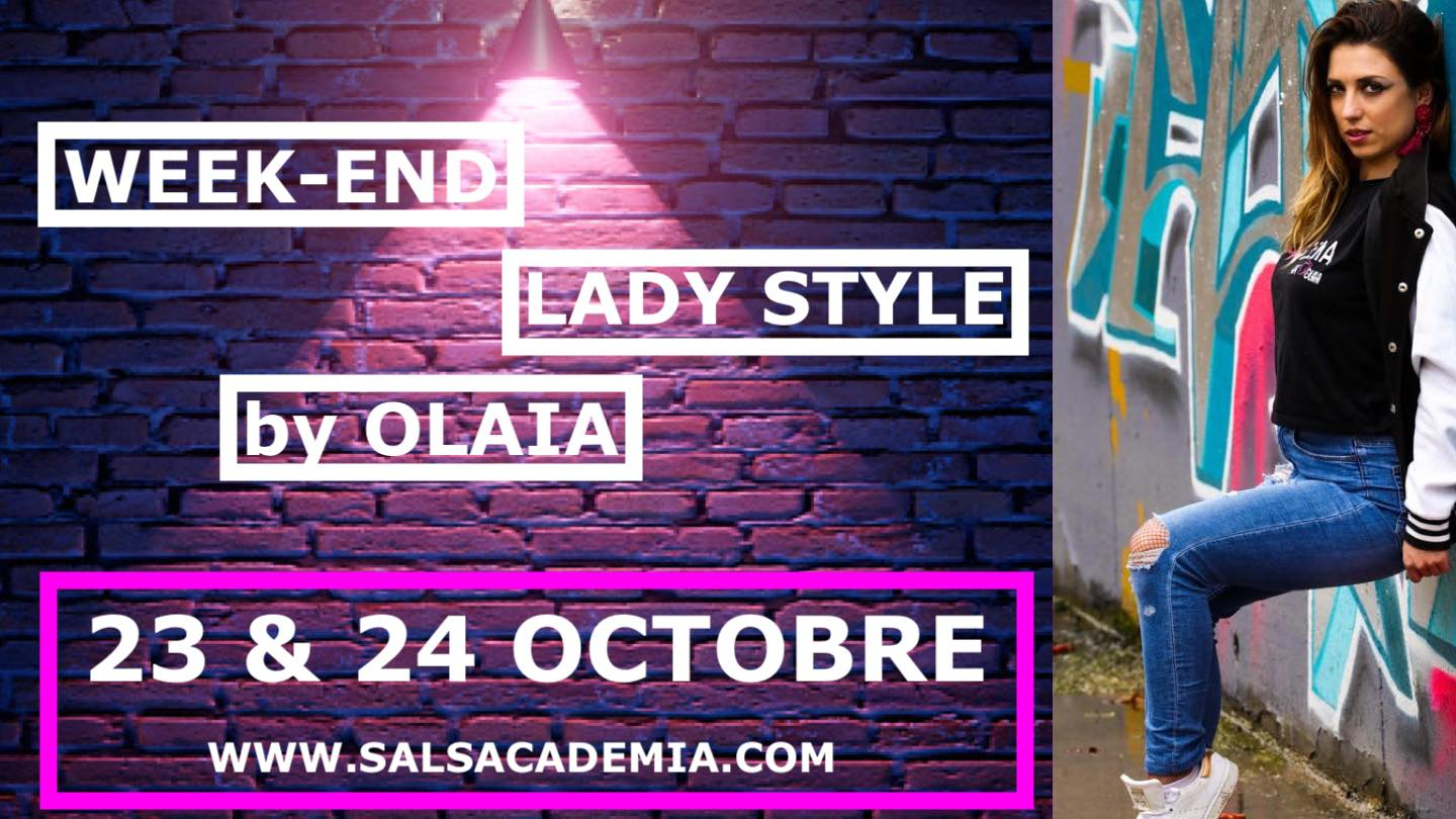 STAGE WEEK-END SPECIAL LADY STYLE avec OLAIA